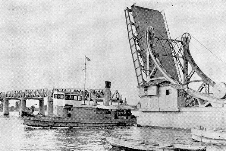 旧港新橋-昭和12年(1937)完成