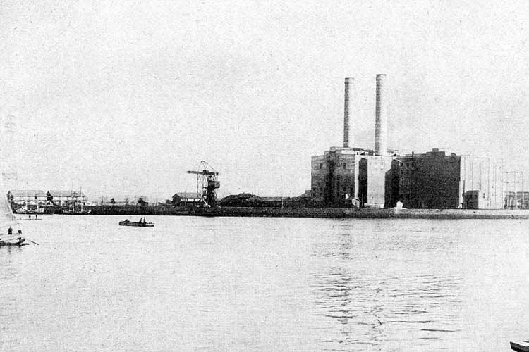 東邦電力火力発電所(中部電力の前身)