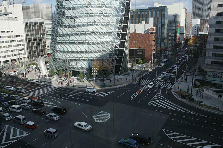現在の笹島交差点(2012年)