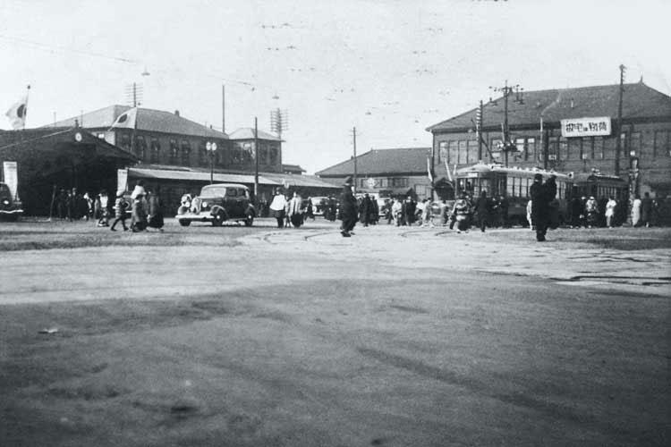昭和時代(1926-1989)初期の名古屋駅前