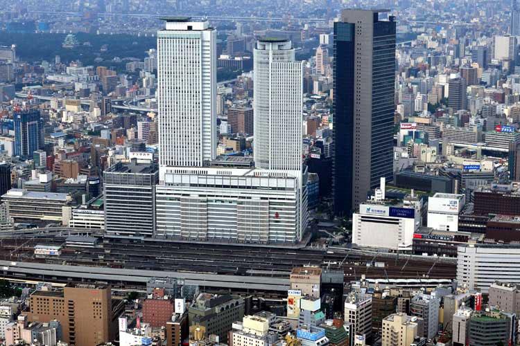 現在の名古屋駅ホーム(2009年)