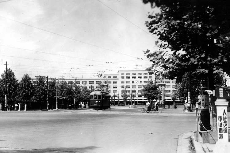 完成後の名古屋駅前(1939年)