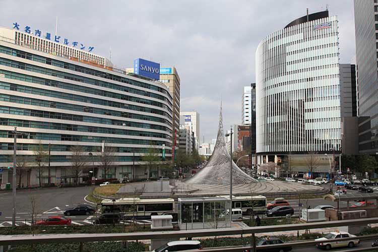 現在の名古屋駅前桜通(2012年)