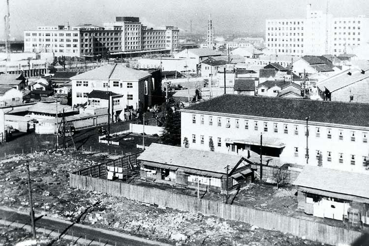 名古屋駅付近(1954年)