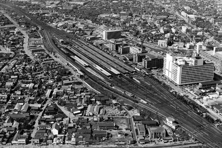 昭和34年(1959)頃の名古屋駅周辺