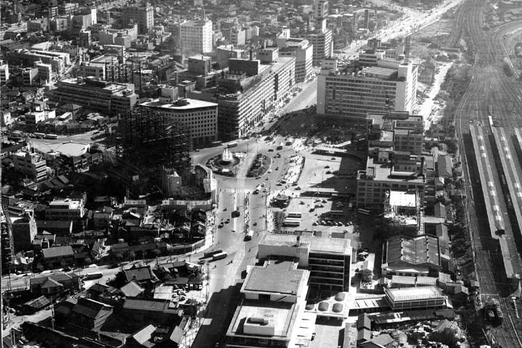 名古屋駅前(1961年頃)