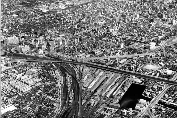 名古屋駅周辺(1965年)