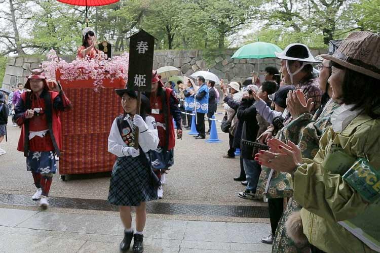春姫の入城