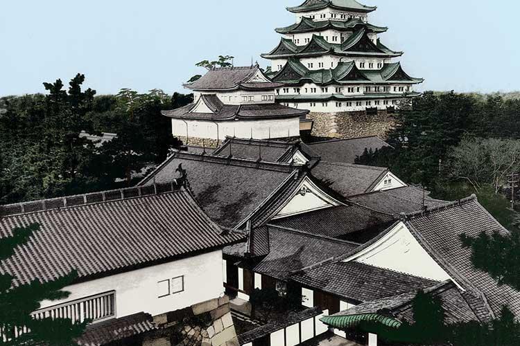 焼失前の名古屋城
