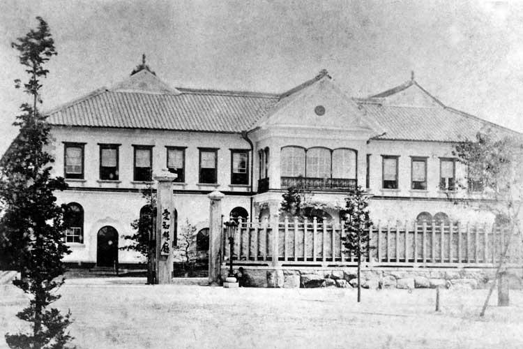 南久屋町時代の愛知県庁(1877~1900年)