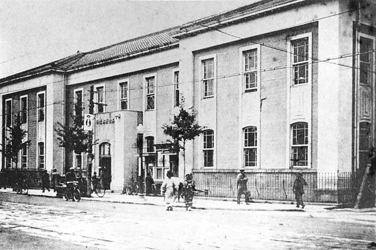 名古屋郵便局-明治20年(1887)に移転新築