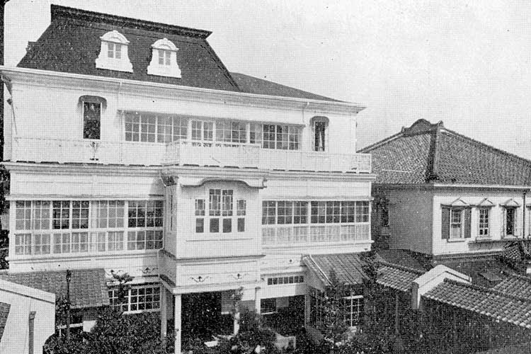 広小路名古屋ホテル(改築後の写真)明治28年(1895)開業