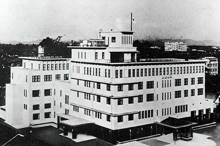 (株)名古屋観光ホテル昭和9年(1934)発足