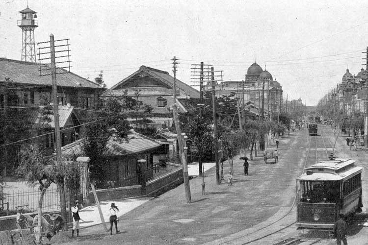 移転後の名古屋市役所前