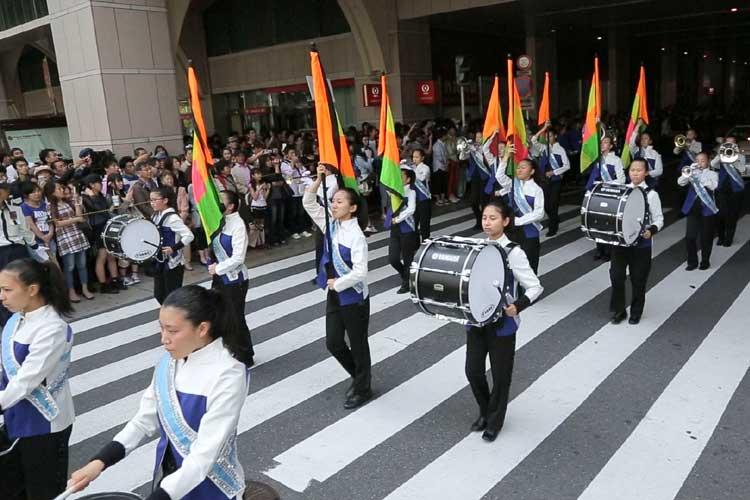 名古屋女子大中学校・高等学校マーチングバンド