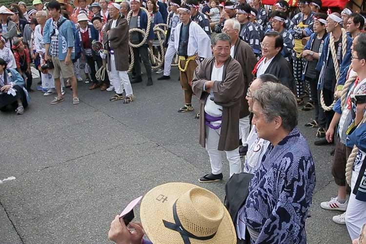 河村たかし名古屋市長も参加して出会いが行われた