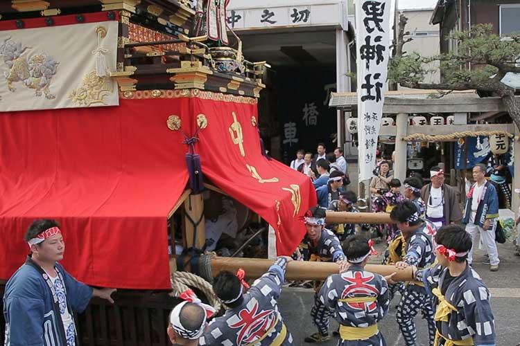 中之切須佐之男社へ参拝
