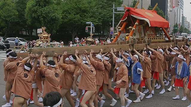 那古野神社天王祭 神輿渡御