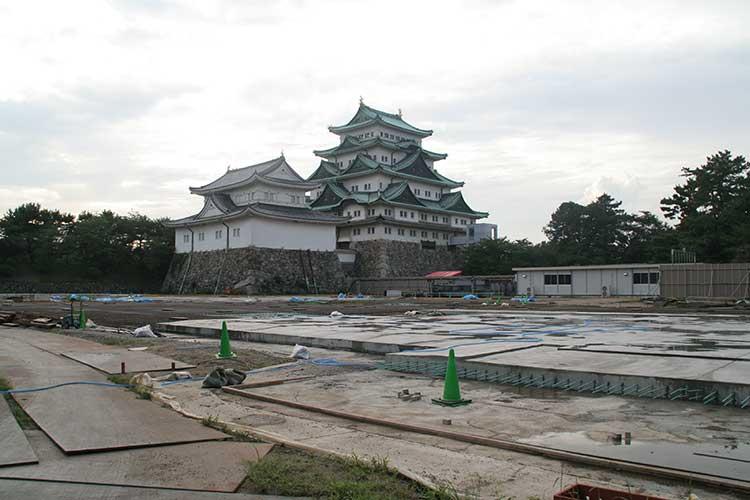 復元工事着工(2009年8月)
