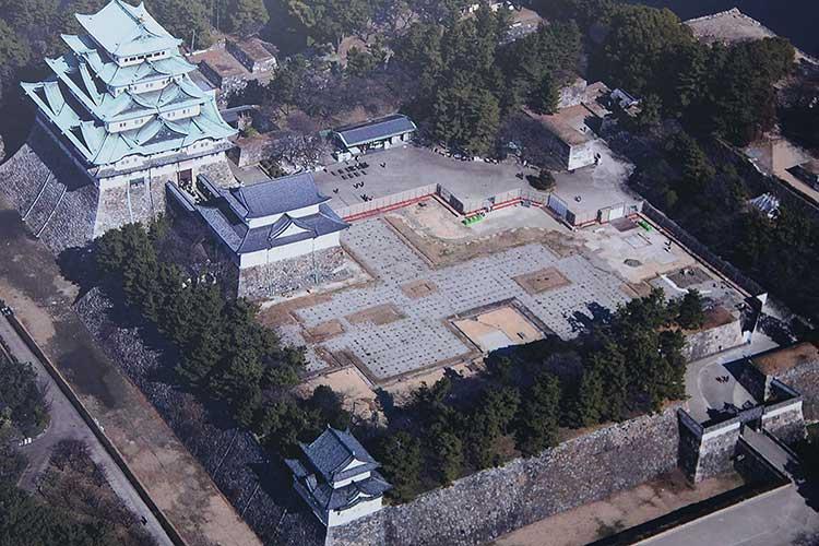 本丸御殿復元基礎工事(2009年)