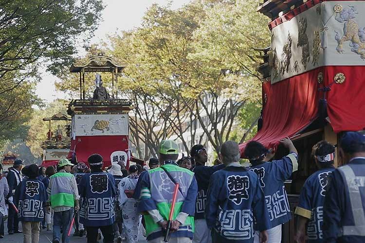 名古屋東照宮へ出発