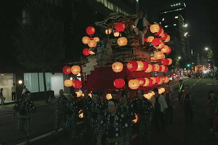 若宮八幡社福禄寿車(本町通)