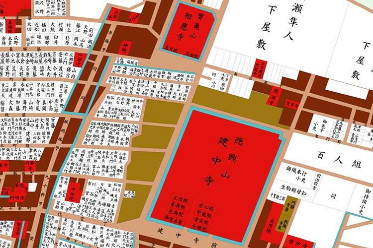 江戸後期の地図