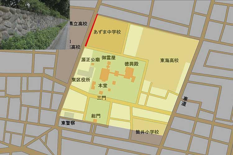 現在の周辺地図
