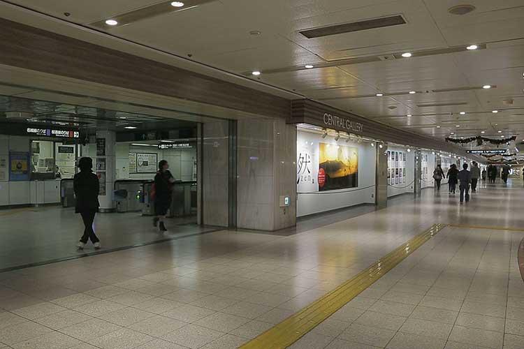 地下鉄桜通線久屋大通駅南改札口