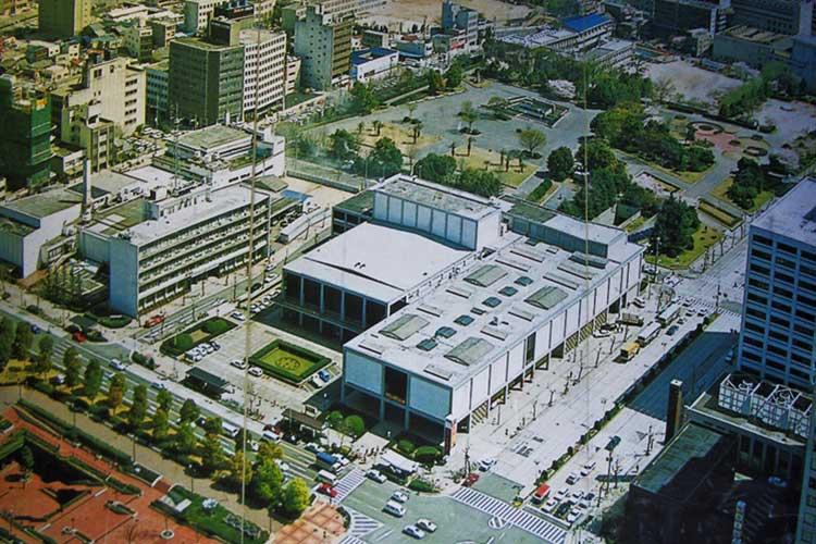 昭和60年頃の栄公園一帯