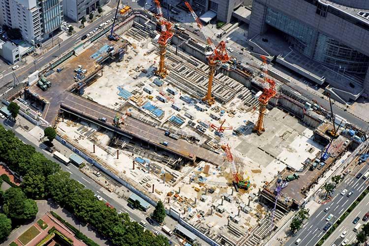 オアシス21建設(平成12年春)