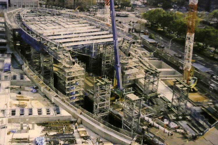 オアシス21建設(平成13年春)