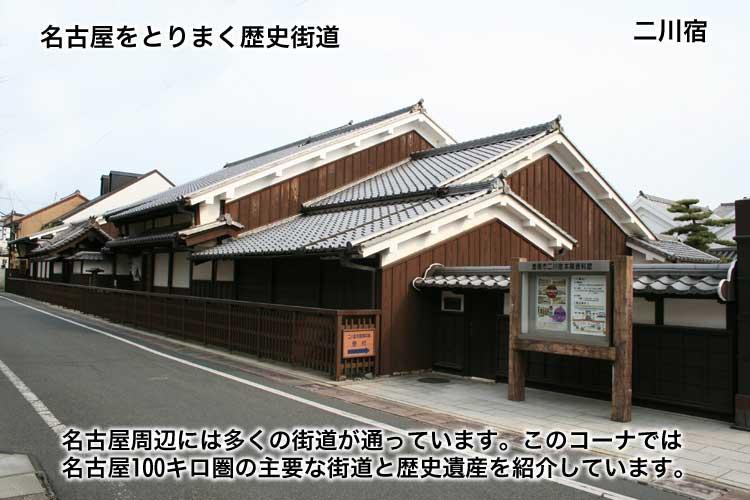 名古屋をとりまく歴史街道