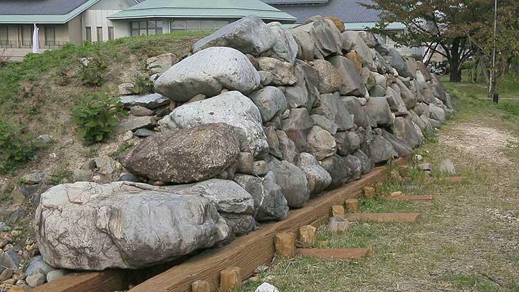 清洲古城石垣の一部
