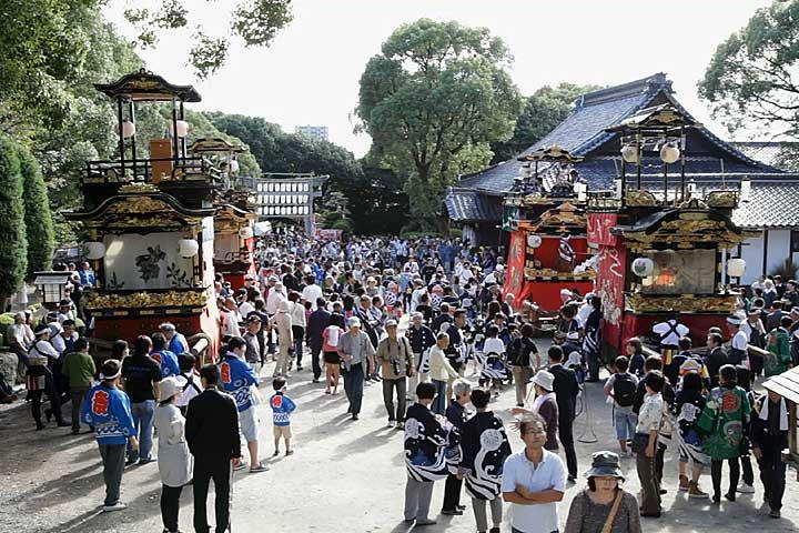 鳴海山車祭り