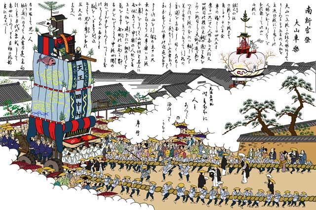 南宮祭(熱田天王祭り)