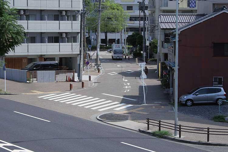 東海道・美濃路追分