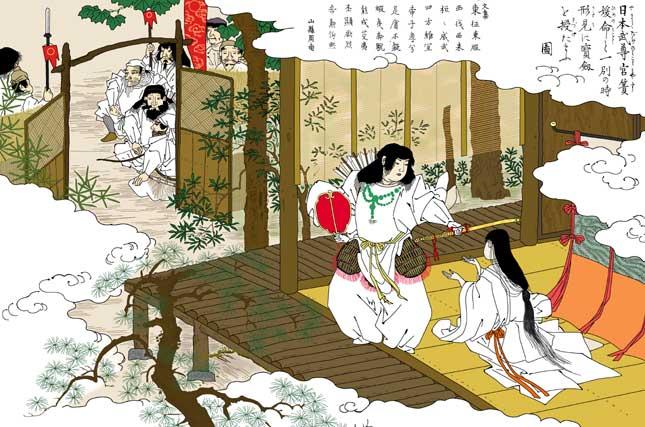 日本武尊と草薙の剣