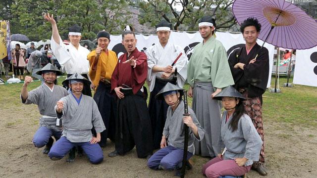 名古屋おもてなし武将隊出立式