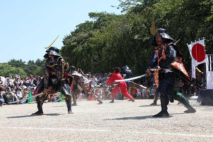 伊達武将隊と競演2010年9月