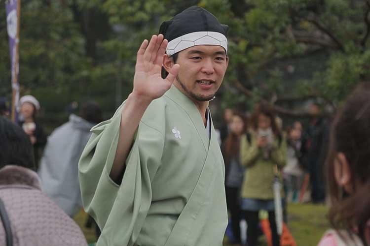 武将隊出立式 2015年3月