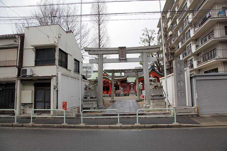 古渡稲荷(山王神社)0