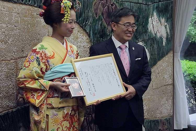 愛知県知事表敬訪問 愛知県知事表敬訪問 このページの先頭へ Tweet 第21回春姫道中 第21