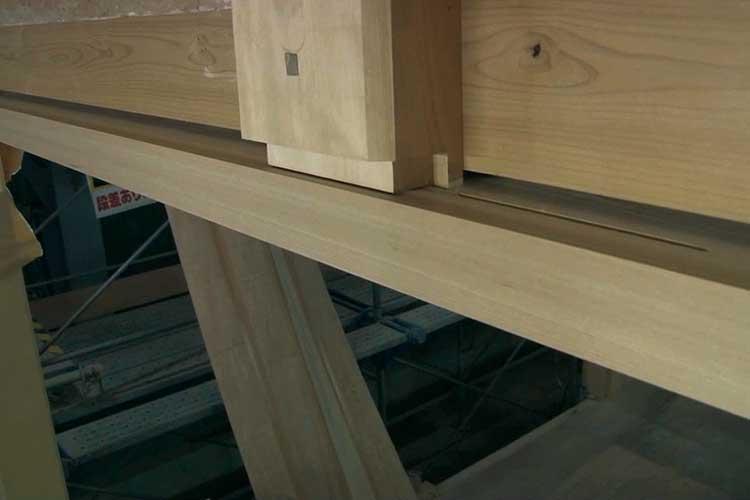 木工事-本丸御殿玄関
