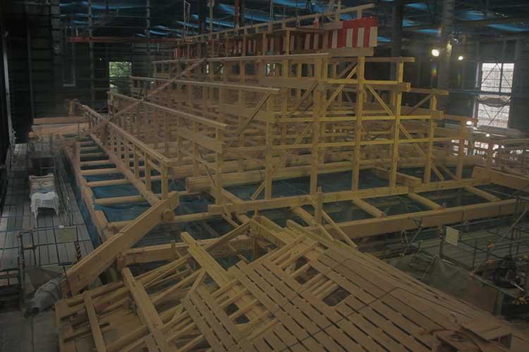 木工事-表書院