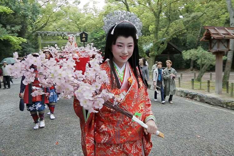 第二十一代 春姫 銅傳美祐さん