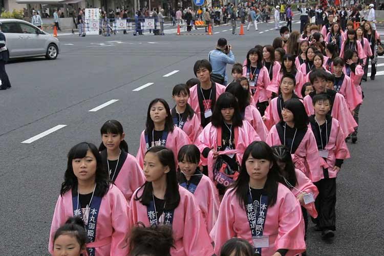 春姫道中パレード(大津通)