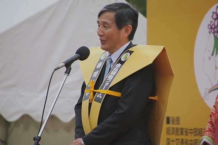 仁坂吉伸 和歌山県知事