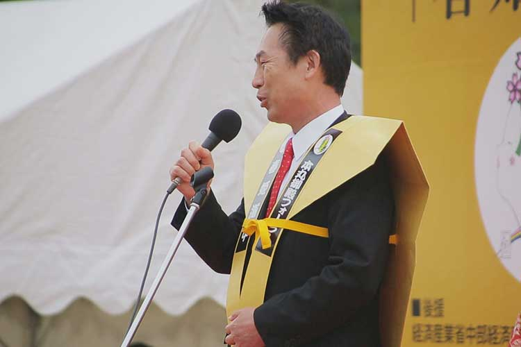 尾花正啓 和歌山市長