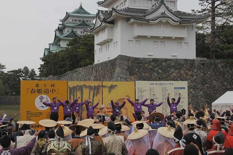 「春姫恋唄」にあわせての踊り